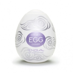 Вагины, мастурбаторы Мастурбатор Tenga Egg Cloudy