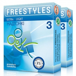 Freestyles Презервативы FREESTYLES ULTRA LIGHT 3 шт
