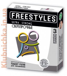 Freestyles Презервативы FREESTYLES ULTRA STRONG 3 шт