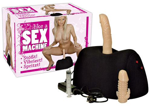 секс с вибро машинка