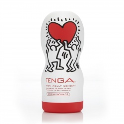 Вагины, мастурбаторы Мастурбатор Tenga Keith Haring Deep Throat Cup