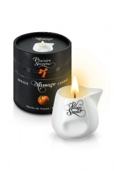 Фото Plaisir Secret Массажное масло-свеча  Plaisir Secret Peach